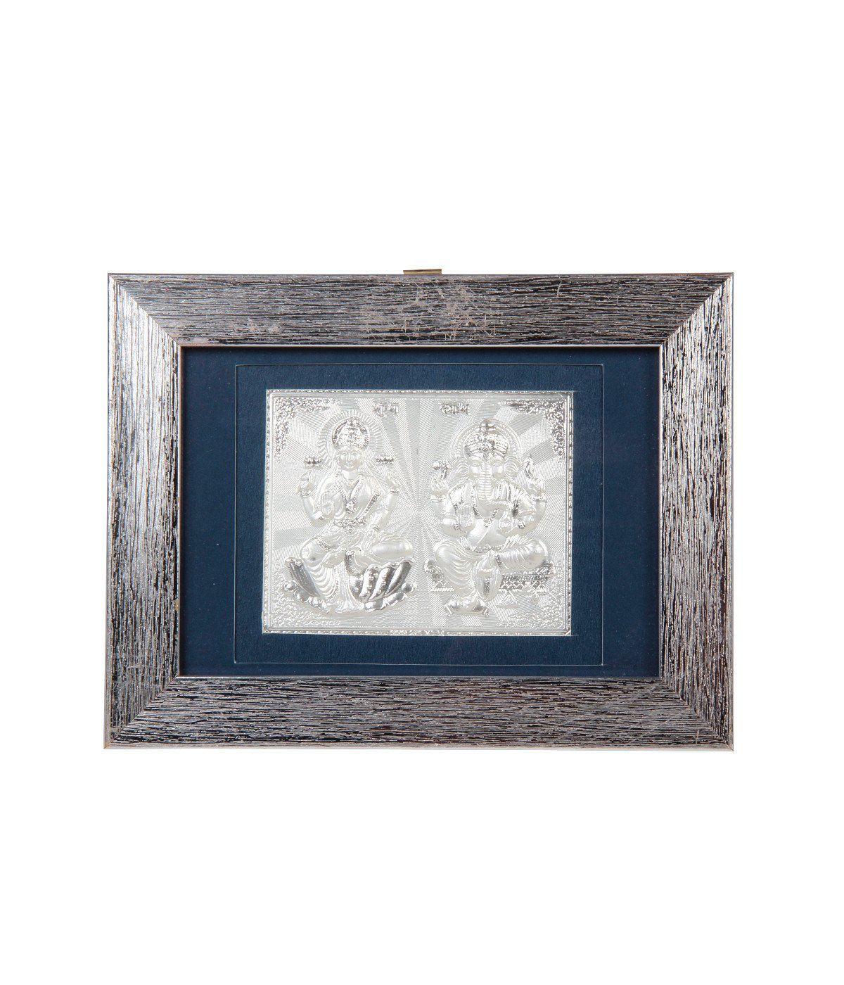 Jewel Fuel 999 Pure Silver Lakshmi Ganesha Frame | Jewel Fuel